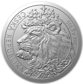 CZECH LION  1 oz Silver  Coin Niue 2021