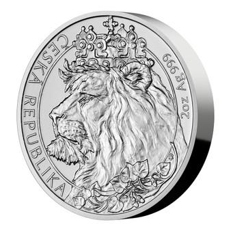 CZECH LION 2 oz Silver Coin Niue 2021