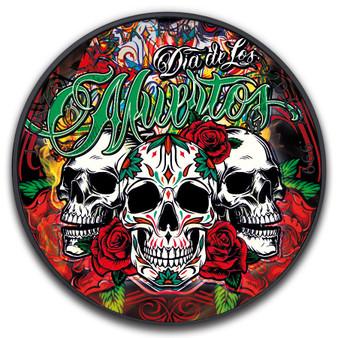 DIAS DE MUERTOS THREE SKULL Libertad 1 oz Black Ruthenium Coin Mexico 2020
