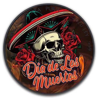 DIAS DE MUERTOS SOMBRERO SKULL Libertad 1 oz Black Ruthenium Coin Mexico 2020