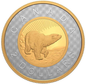 Renewed Silver TOONIE 25th Ann. of the $2 Coin 2 oz Silver Canada 2021