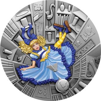 BLUE FAIRY TALE Fairytale series 1 oz Silver Coin $1 Niue 2021
