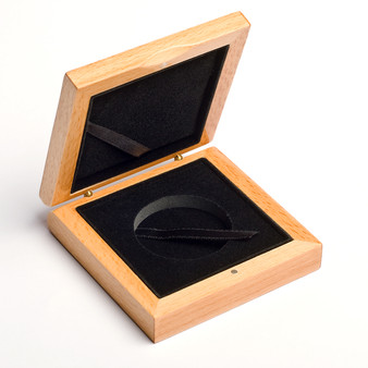 Display Wooden Box -High quality wooden coin box for coins and medals.