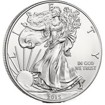 2015 1 oz American Silver Eagles Coin