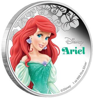 Disney Princess Ariel - 2015 Niue 1 oz Silver Coin