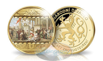 130th. Anniversary of the Prague's National Theatre Medal