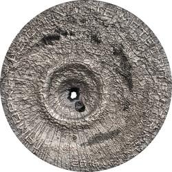 TAMDAKHT METEORITE STRIKE - BREAK THROUGH  Silver Coin Cook Islands 2016