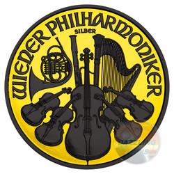VIENNA PHILHARMONIC Orchestra 1.5 EURO 1oz Silver Coin 2016