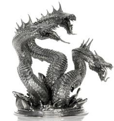 Hydra - Terror of the Seas – 3D STATUE –8 oz Silver 3D STATUE