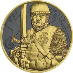 "2019 Austria 825th Ann. of Duke Leopold V. 1 oz Silver coin ""Golden Ring"""