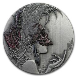 EVANESCA Dark Beauties Silver Coin 2$ Niue 2019