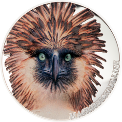 PHILIPPINE EAGLE Magnificent Life 1 Oz Silver Coin Cook Islands 2019