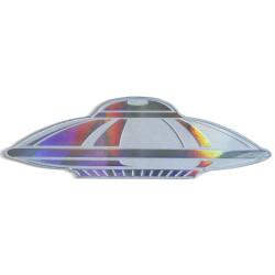 UFO Alien Hologram 1 oz Silver Coin $2 Solomon Islands 2020