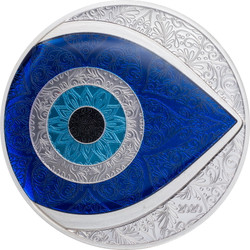 EVIL EYE 1 oz Silver Proof Coin Palau 2020