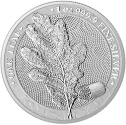 OAK LEAF 2020 WMF EDITION 1 oz Pure Silver Coin in Blisterpack