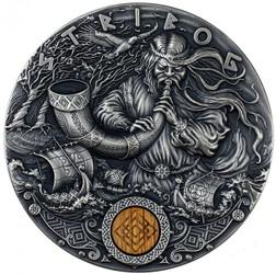 STRIBOG Slavic Gods 2 Oz Silver Coin Niue 2020