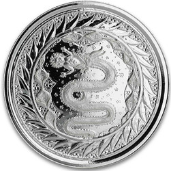 SERPENT of MILAN 1 oz Silver Coin Samoa 2020