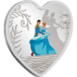 Disney CINDERELLA 70th. Anniversary 1 oz Silver Proof Coin Niue 2020