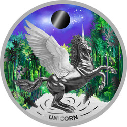 UNICORN 1 oz Silver Proof Coin Niue 2020