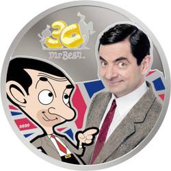 MR. BEAN 30th. Anniversary 1 oz Silver Coin Cook Islands 2020