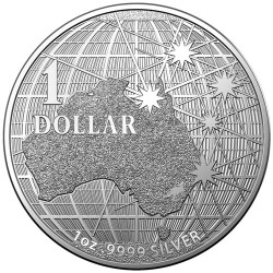 BENEATH THE SOUTHERN SKY $1 Silver Coin Australia 2020