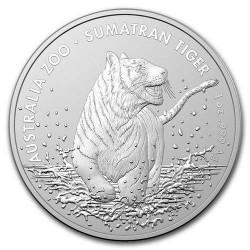 SUMATRAN TIGER $1 Silver Coin Australia 2020