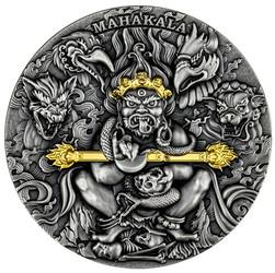 MAHAKALA Gold Plating 2 oz Silver Coin 2000 Francs Cameroon 2020
