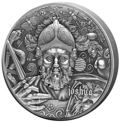 JOSHUA The Nine Worthies Series 2 oz Silver Coin 2020 Chad