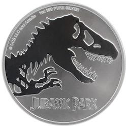 JURASSIC PARK™ 1 oz Silver Coin $2 2020 Niue