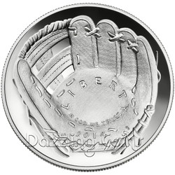 2014 P National Baseball Hall of Fame Proof Silver Dollar US Mint