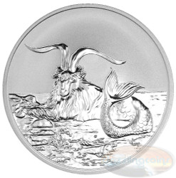 2015 Myth & Legend - Capricornus 1oz Silver Reverse Proof Tokelau Coin