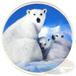 1 oz Maple Leaf Polar Bear Theme ~ Silver .9999 $5 Canada 2014
