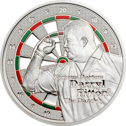 Darters-Darryl Fitton $1 Color Proof Cook Islands 2014