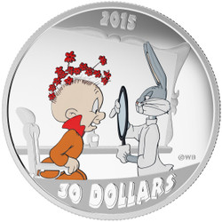 2 oz Looney Tunes™ Classic Scenes The RABBIT of SEVILLE with Bugs Bunny & Elmer Fudd