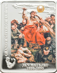 Jan Matejko – Wernyhora OLD MASTERS 5$ Cook Island Silver Coin 2009