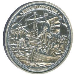 Niue 2015 2 oz Silver Coin - Journeys Of VASCO DA GAMA