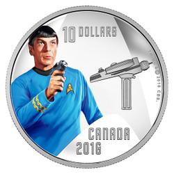 SPOCK - STAR TREK™ Crew - 2016 $10 Fine Silver Coin