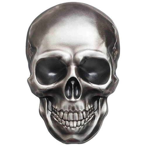 SKULL NO 1 - SMARTMINTING - 2016 1 oz Pure Silver Coin - Palau