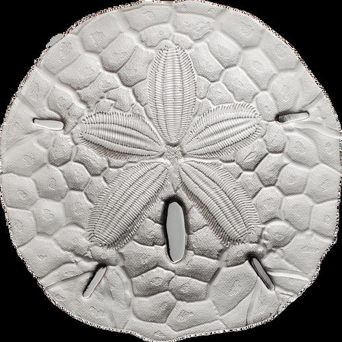 SAND DOLLAR 1 Oz Silver Coin 1$ Palau 2017