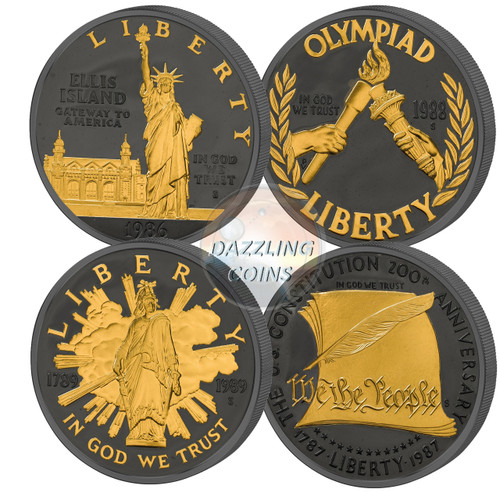 Golden Enigma - US Commemorative 4 coin Set USA 2017