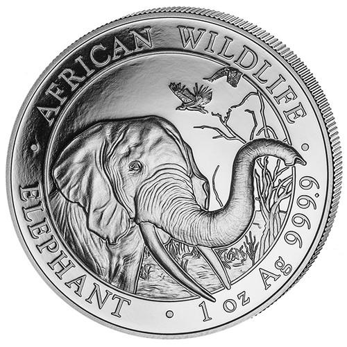ELEPHANT - 1 oz Silver Coin 2018 Somalia