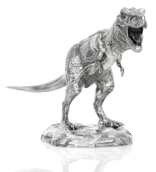TYRANNOSAURUS REX – 8 oz Silver 3D STATUE with Serial Number