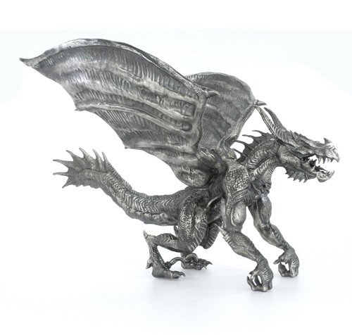 BRUTUS the DRAGON – 8 oz Silver 3D STATUE with Serial Number