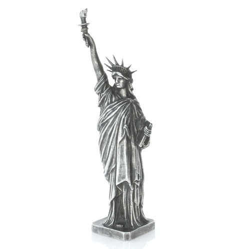 LADY LIBERTY – 5 oz Silver 3D STATUE with Serial Number