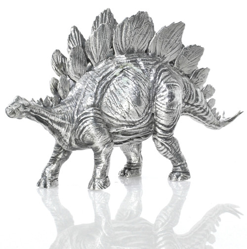 Stegosaurus – 3D STATUE – 8 oz Silver - SERIAL NUMBER