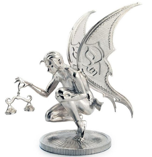 Ariana The Fairy – 3D STATUE – 5 oz Silver 3D STATUE - SERIAL NUMBER
