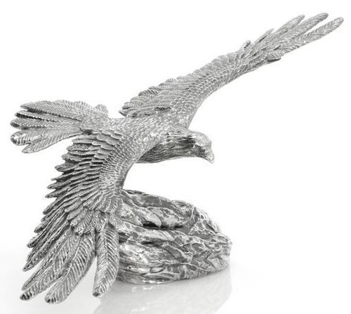 The Soaring Eagle – 3D STATUE –8 oz Silver 3D STATUE
