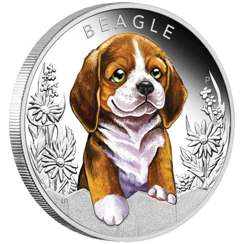 Beagle 1/2 oz Silver Proof 2018 Australia