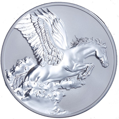 Tokelau 2014 1 oz Proof Silver $5 SPAWNS PEGASUS Coin