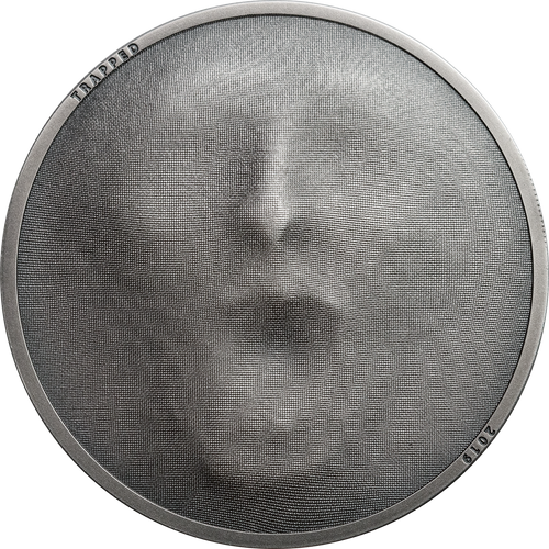 TRAPPED 1 Oz Silver Coin 5$ Cook Islands 2019